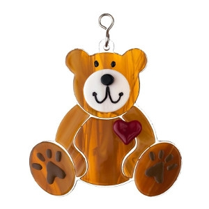 Glass Teddy Bear Nightlight Cover