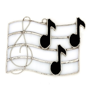 Glass Music Notes Nightlight Cover