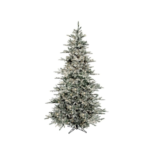 Flocked Vail Artificial Christmas Tree