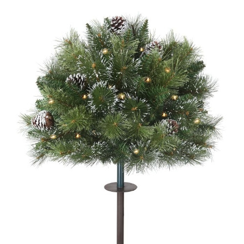Frosted Stake Tree