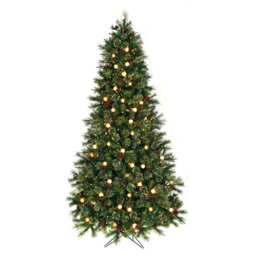 Twinkle Cottonwood Artificial Christmas Tree