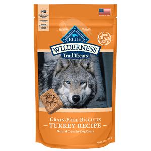 BLUE Wilderness Trail Treats Turkey Biscuits 10oz