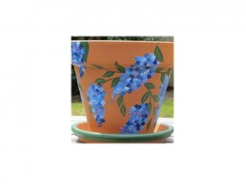 Paint a Flower Pot with Artique Colchester