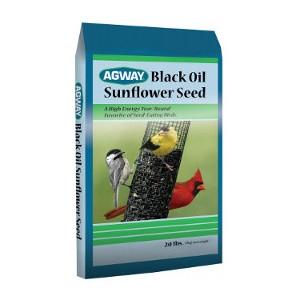 Agway Black Oil Sunflower Seed 50lb $18.99