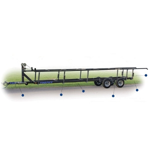 Trophy Pontoon Trailer