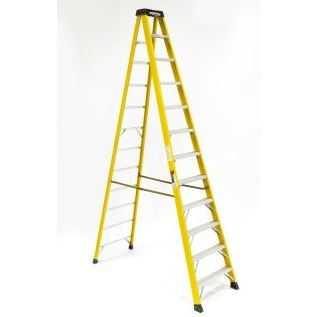 12 Ft. Fiberglass Step Ladder