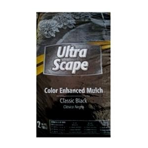 Ultra Scape Color Enhanced Black Mulch