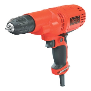Black & Decker 5.2 amps 3/8 in. Keyless 1500 rpm Corded Drill