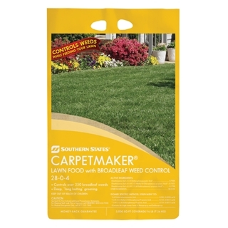 Southern States Carpetmaker Lawn Food with Broadleaf Weed Control 28-0-4 15M