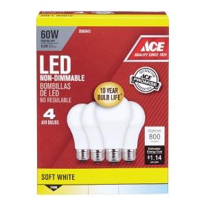 Ace LED Light Bulb 60 Watt