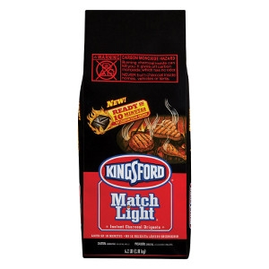 Kingsford Match Light Instant Charcoal Briquettes 6.2 lb.
