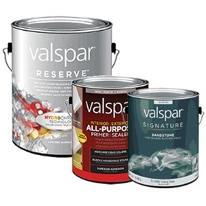 All Valspar Now Buy 1, Get the 2nd 50% Off