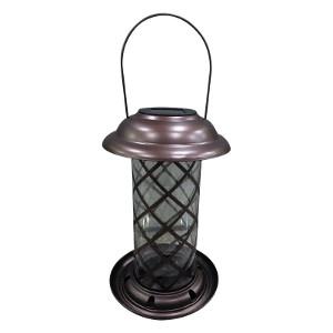 Infinity Metal Solar Lantern Bird Feeder $19.99