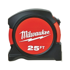 Milwaukee Tape Measure 1-1/16 in. W x 25 ft. L