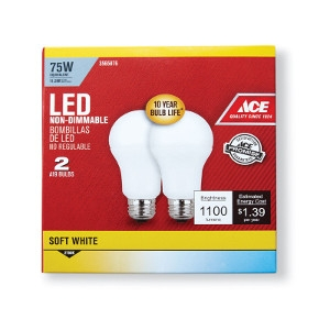 Ace LED Light Bulb 75 Watts