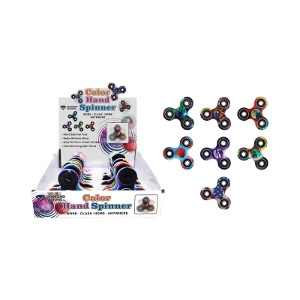 Diamond Visions Color Fidget Spinner Plastic/Rubber 1 pk
