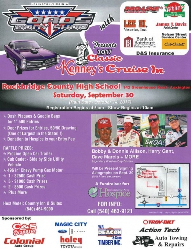 2017 Classic Kenney's Cruise In