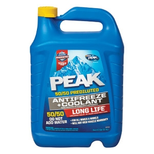 Peak Long Life 50/50 AntiFreeze & Coolant 1 Gallon