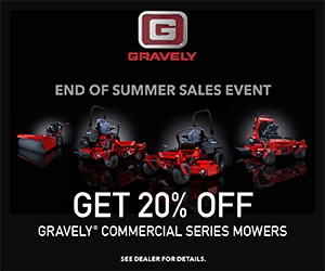 Gravely End of Summer Sales Event