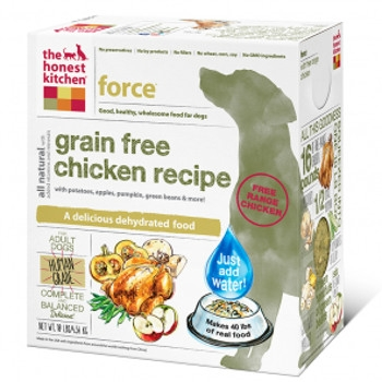Force Grain Free Chicken Dog Food, 4 lbs.