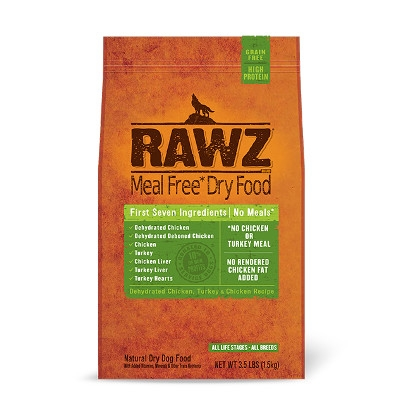 Rawz Chicken & Turkey Recipe Dry Dog Food, 10 lbs.