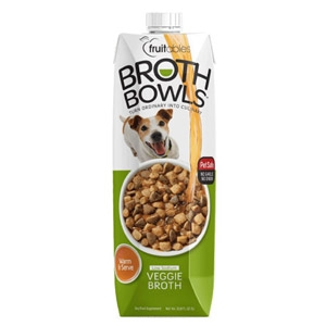 Fruitables® Broth Bowls Warm & Serve Veg Broth