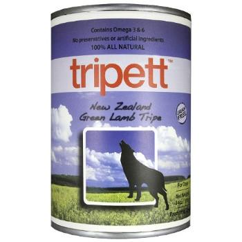 Tripett New Zealand Green Lamb Tripe Canned Dog Food