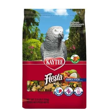 Kaytee Fiesta Max Parrot Food, 2.5 lbs.