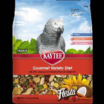 Kaytee Fiesta Parrot Food, 4.5 lbs.