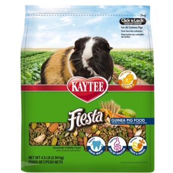 Kaytee Fiesta Guinea Pig Food, 4.5 lbs