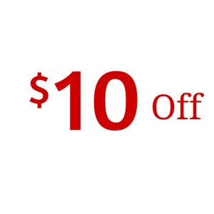 $10 off $60 Purchase