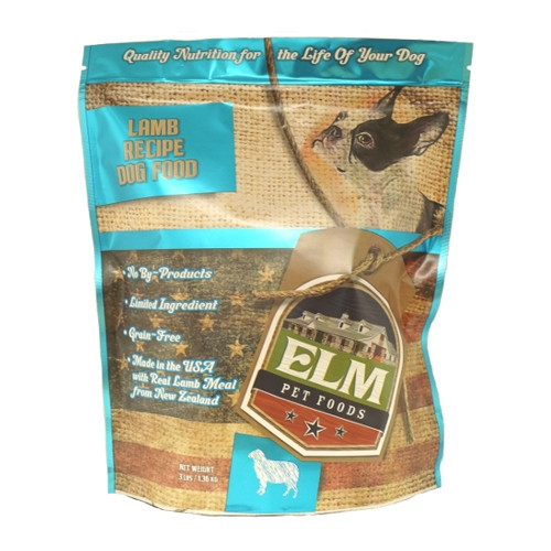 Elm Pet Food Lamb Dog Food 3 lb.