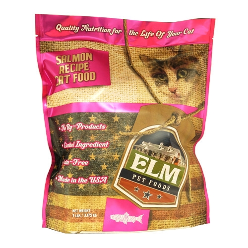 Elm Pet Food Salmon Cat Food 7 lb.