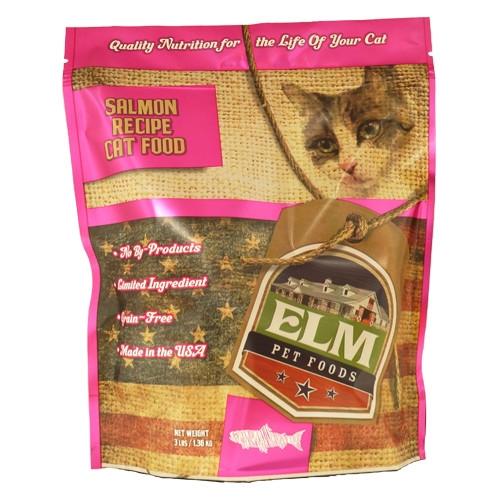 Elm Pet Food Salmon & Rice Cat Food 3 lb.