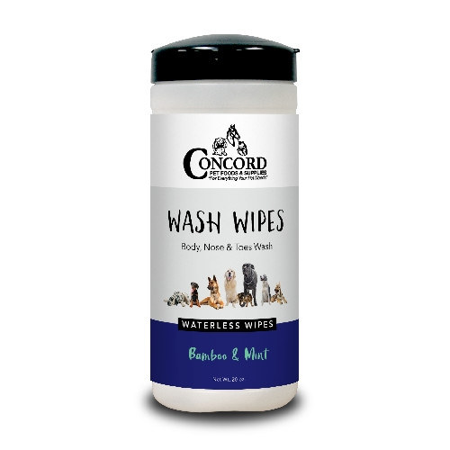 Concord Pet Bamboo & Mint Wash Wipes