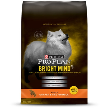 Purina Bright Mind Adult Chicken & Rice Formula Dog Food