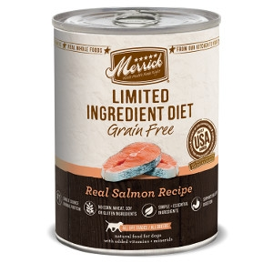 Merrick Limited Ingredient Diet Real Salmon Recipe Dog Food