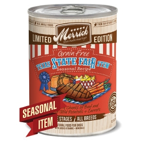 Merrick Grain Free Classic Texas State Fair Stew Seasonal Canned Dog Food