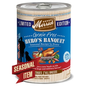 Merrick Grain Free Hero's Banquet Seasonal Recipe Dog Food