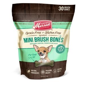 Merrick Mini Brush Dental Bone