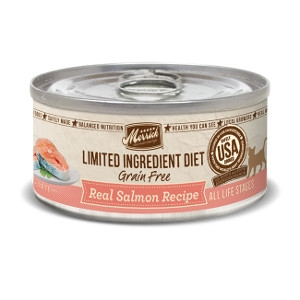 Merrick Limited Ingredient Diet Real Salmon Recipe Canned Cat Food