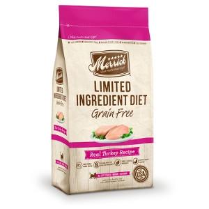 Merrick Limited Ingredient Diet Real Turkey Recipe Cat Food