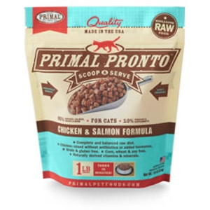 Primal Pronto Feline Chicken & Salmon Formula