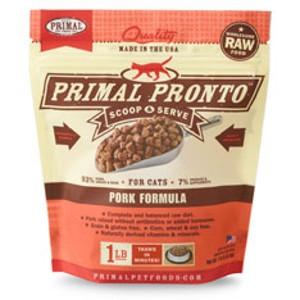 Primal Pronto Feline Pork Formula