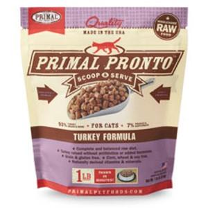 Primal Pronto Feline Turkey Formula