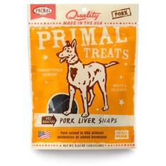 PrimalDry Roasted Pork Liver Snaps