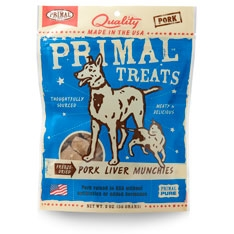 PrimalFreeze-Dried Pork Liver Munchies