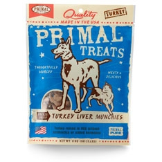 PrimalFreeze-Dried Turkey Liver Munchies