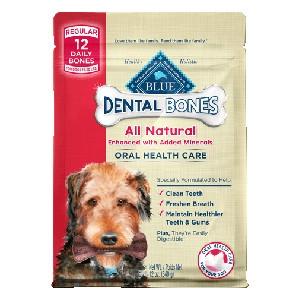 BLUE Dental Bones®Regular Size