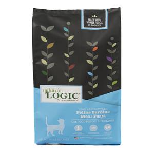 Nature's Logic Feline Dry Kibble, Sardine Formula, 15.4#
